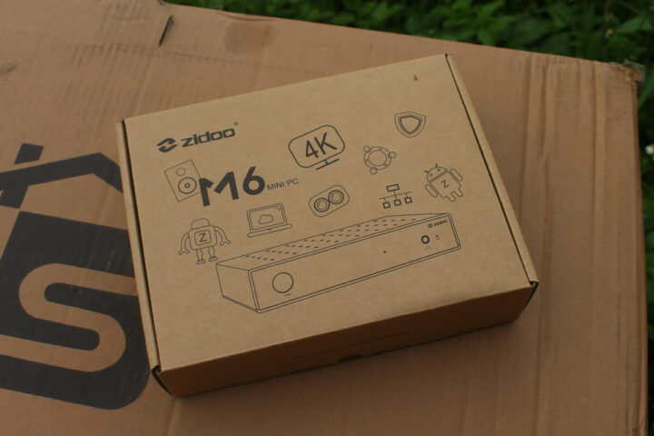 Zidoo M6外壳包装