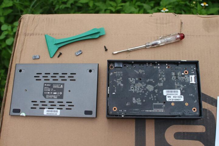 Zidoo M6拆卸后