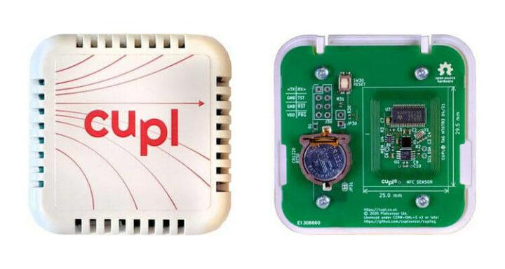 cuplTag NFC传感器