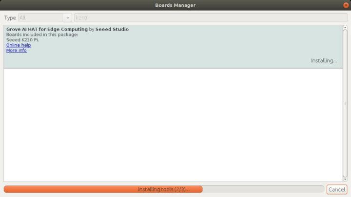 安装开发板的BSP