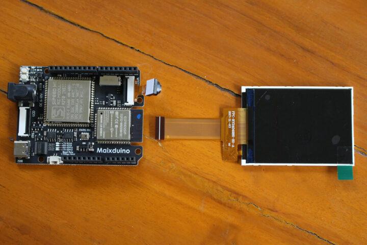 带摄像头、LCD 显示屏的Maxiduino 套件