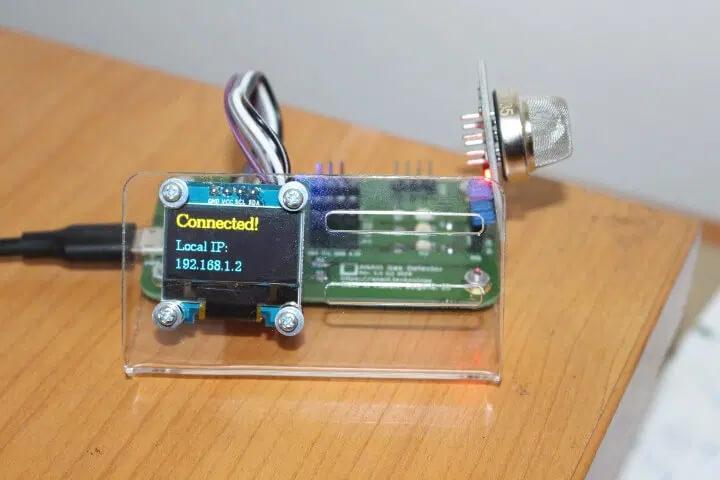 ANAVI气体检测仪的IP地址