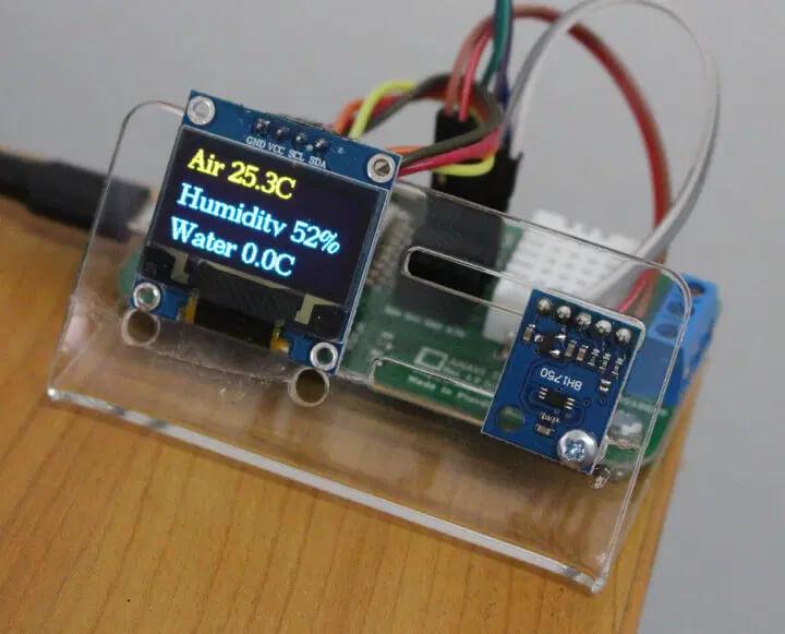 ANAVI 温度计空气/湿度/水的显示