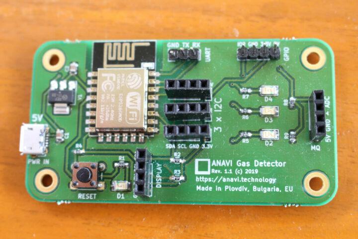 ANAVI ESP8266 气体检测板
