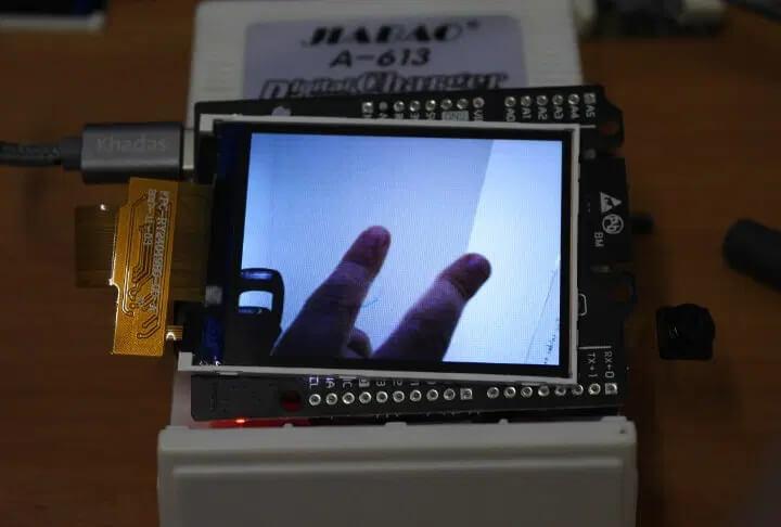 Maixduino 摄像头输出