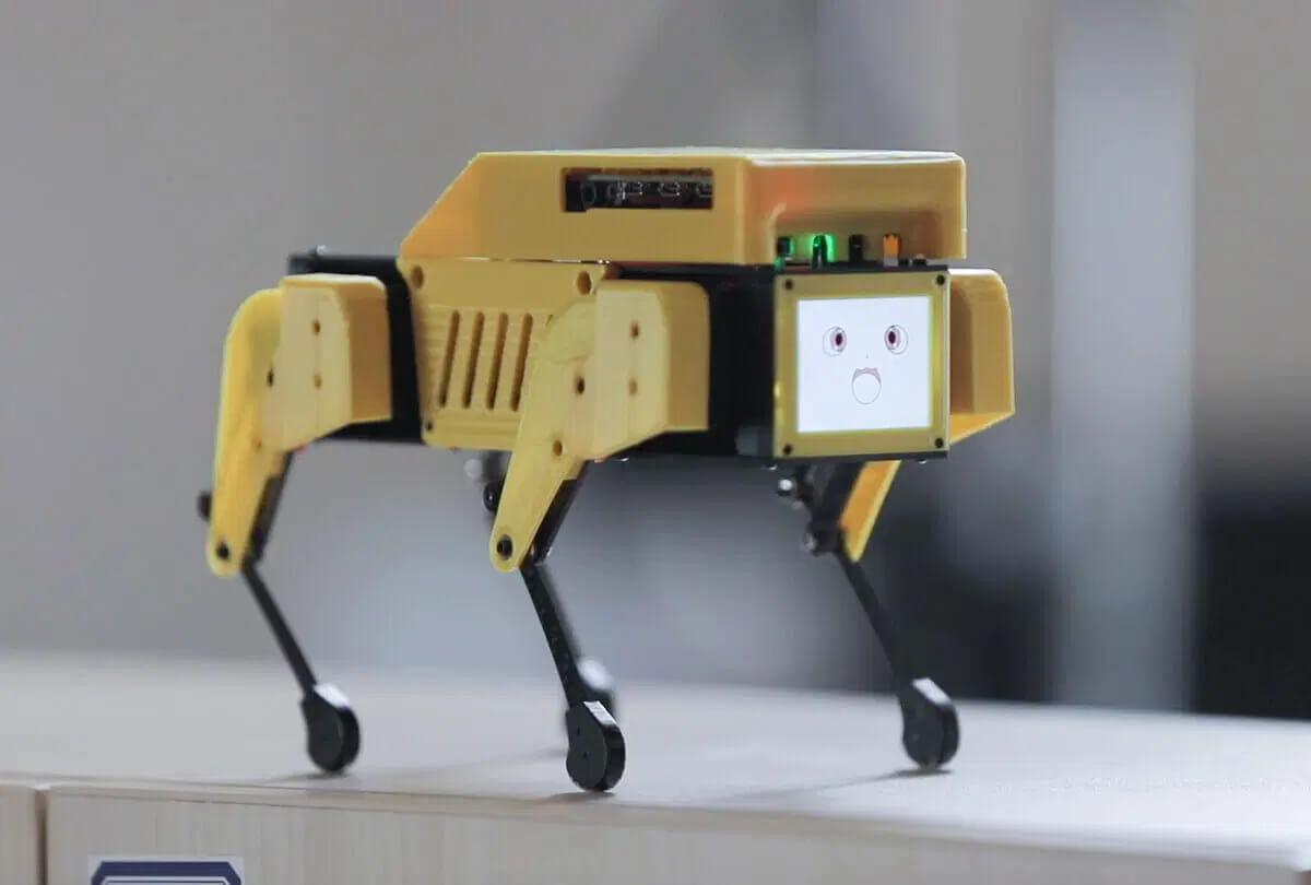 Mini Pupper树莓派4机器狗